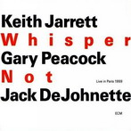 Keith Jarrett, 'Whisper not' (ECM, 2000)