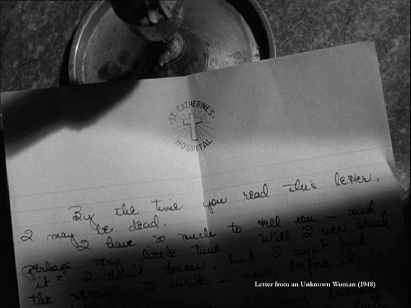 Letter from an Unknown Woman 1