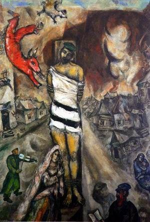 Le Martyr,  Chagall