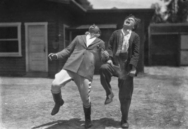 Charlie Chaplin e Douglas Fairbanks