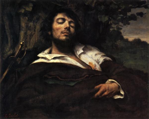 L'homme_ lessé, Gustave Courbet, 1854
