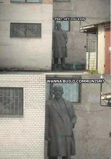 lenine comunism
