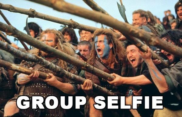 braveheart selfie