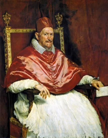 Retrato del Papa Inocencio X._Roma, Diego Velázquez
