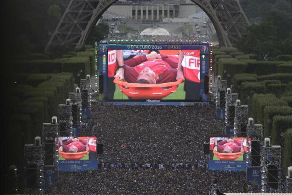 Ronaldo Final Euro 2016, Paris