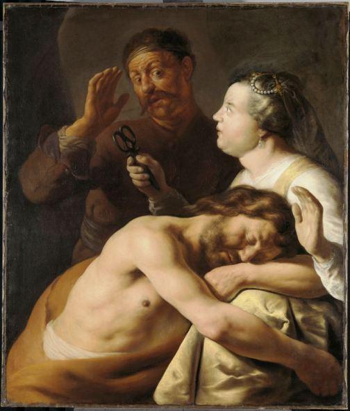 """Samson and Delilah"" (1630 - 1635), Jan Lievens"