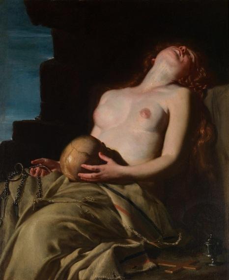 """""""Magdalena desvanecida"""", Artemisia Gentileschi @"""