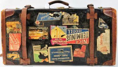 old suitcase