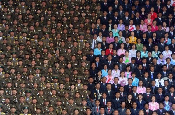 Celebrating the 100th anniversary of the birth of Kim Il-sung, North Korea's founder