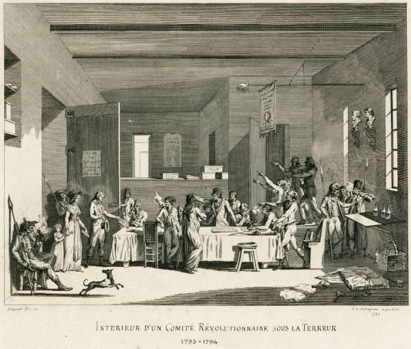"""""""Intérieur d'un Comité révolutionnaire sous la Terreur"""", Alexandre-Évariste Fragonard"""