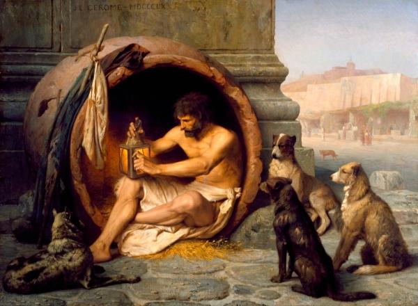 """""""Diogenes"""" (1860), Jean-Léon Gérôme"""